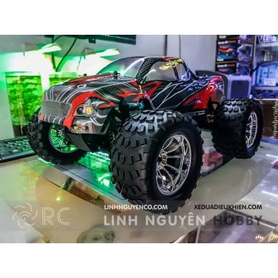 HiSpeed HSP188 - Xe Tải Đua Địa Hình chạy xăng nitro - Offroad Monster Truck - Nguyên Bộ Kit & Xăng