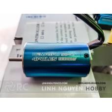 Motor mini 2845 Motor 3930KV Sensorless Brushless Waterproof cốt 3mm