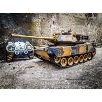 M1A2 tỉ lệ 1/18 - Xe tăng điều khiển từ xa US M1A2 MBT bánh xích & bắn đạn & khói