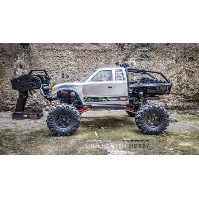 REMO TRAIL RIG TRUCK  - XE ĐỊA HÌNH LỘI NƯỚC OFFROAD CRAWLER - tỉ lệ 1/10 - 4WD ROCK CLIMBER