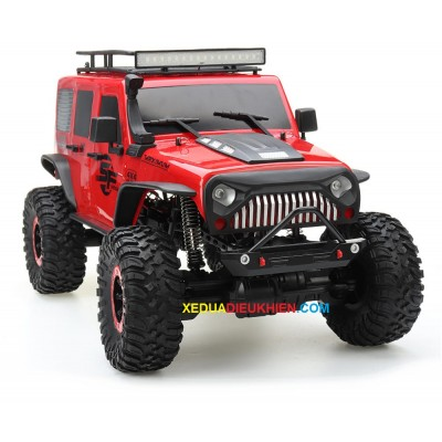 R4311 Xe địa hình leo núi tỉ lệ 1/10 Crawler RC Car Desert Mountain Rock Vehicle Models With Two Motors LED Head Light