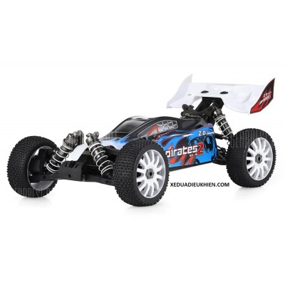 ZD Hobby RC PIRATES 2 BUGGY - TỈ LỆ 1/8 - 4WD RC Off-Road Buggy RTR 80km - Sườn Nhôm