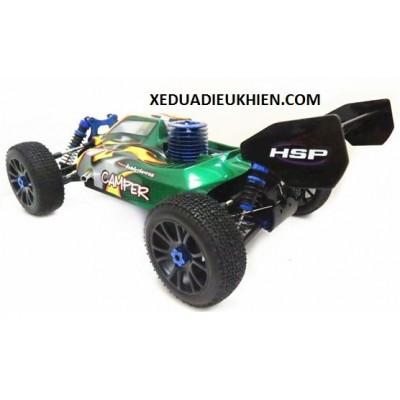 Hispeed HSP970 Xe Điều Khiển Từ Xa Xăng Nitro 1/8 4WD Off-Road Nitro Racing RC Buggy