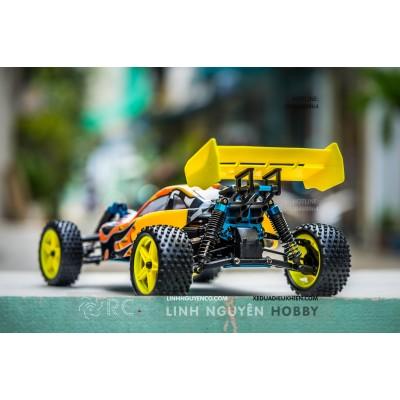 HiSpeed HSP166 Buggy xăng máy 18 - 2 số -  Backwash 2 Speed Nitro RC Buggy - Nguyên Bộ Kit & Xăng