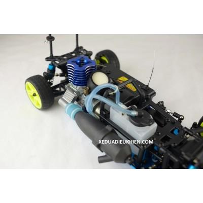 HiSpeed HSP122 Onroad xăng máy 18 - 2 số -  Onroad 2 Speed Nitro RC Car- Nguyên Bộ Kit và Xăng