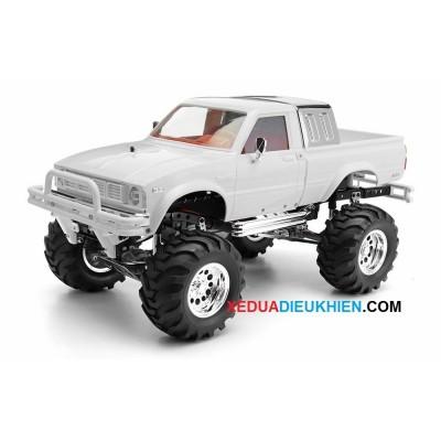 R407  - XE ĐỊA HÌNH LỘI NƯỚC OFFROAD CRAWLER - tỉ lệ  1/10 - 4WD Metal Pickup Truck Rock Crawler RTR