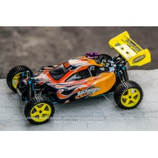 Hispeed 2166 Buggy xăng máy 18 - 2 số -  Backwash 2 Speed Nitro RC Buggy