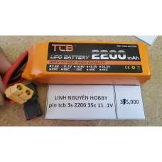 PIN LIPO 3S 11.1V DUNG LƯỢNG 2200MAH 35C CHO XE 1/10 và cano FT012