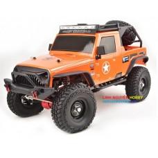R8610P  - KIT LẮP RÁP KHÔNG KÈM ĐỒ ĐIỆN - OFFROAD CRAWLER - tỉ lệ  1/10 - PRO Kit 1/10 2.4G 4WD Electric Climbing Rock Crawler