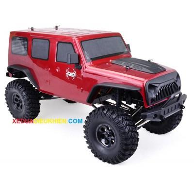 R8610  - XE ĐỊA HÌNH LỘI NƯỚC OFFROAD CRAWLER - tỉ lệ  1/10 2.4G 4WD 510mm Brushed Rc Car
