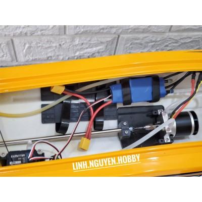 VLT Vector SR  80 PRO RTR 70KM / h Thuyền RC tốc độ cao không chổi than với dàn lái chân vịt kim loại