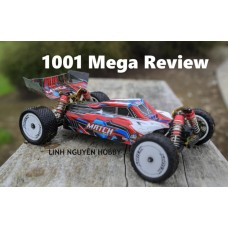WL1001 XE ĐUA SIZE TRUNG BUGGY TỈ LỆ 1/10 - 4WD High Speed Off-Road RC Buggy