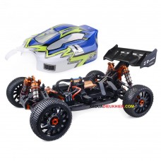 ZD Hobby RC V3 1/8 4WD Buggy 120A ESC 4274 Brushless Motor tốc độ 80km/h - Sườn Nhôm