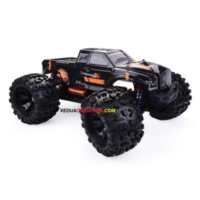 ZD Hobby RC V3 Monster Truck 1/8 2.4G 4WD tốc độ 90km/h - Sườn Nhôm