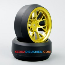 Bộ 4 bánh xe Drift Onroad tỉ lệ 1/10 gắn hex 12mm