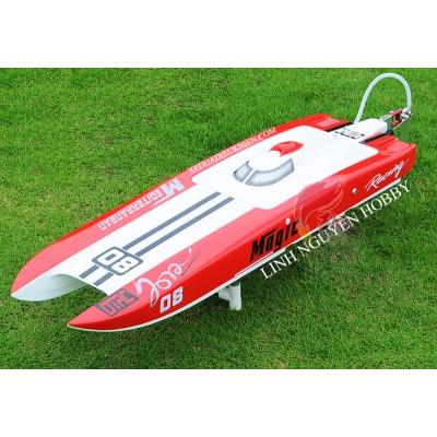 DT Racing Cheetah Brushless RC Boat / Catamaran 915 - Tàu đua tốc độ cao 100kmh