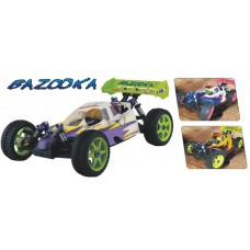 Hispeed 3081 Bazooka 1:8 2.4GHz Nitro Powered 4wd RC Buggy RTR