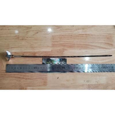 trục láp tàu cáp dẻo 4mm đầu trục 5mm kèm chân vịt kim loại
