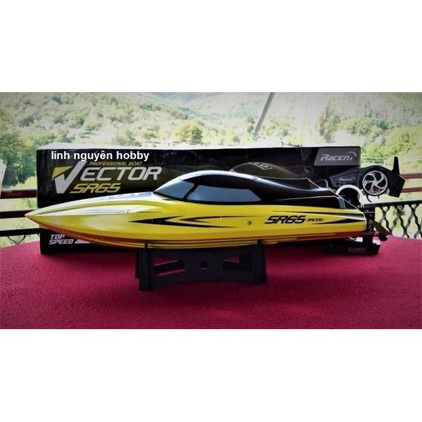 VLT EX Hobby Vector 65cm SR PNP ( body không kèm mote và pin sạc) tốc độ 55KMh - Thuyền RC tốc độ cao- High speed racing boat