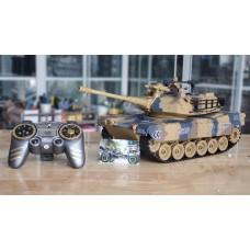 M1A2 Abrams Main Battle Tank tỉ lệ 1/18 - Xe tăng điều khiển từ xa US Army M1A2 MBT bánh xích & bắn đạn & khói