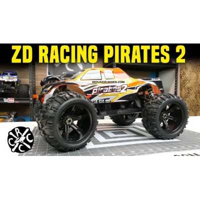 ZD Hobby RC PIRATES 2 MONSTER - TỈ LỆ 1/8 - RC Big Foot Truck RTR 80km - Sườn Nhôm