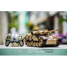 T90 Russian - Xe tăng điều khiển từ xa T90 bánh xích & bắn đạn & khói - tỉ lệ 1/18