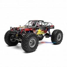 R18K  - XE ĐỊA HÌNH LỘI NƯỚC OFFROAD CRAWLER - tỉ lệ  1/10 2.4G 4WD 470mm Rc Car Rock Hammer Crawler