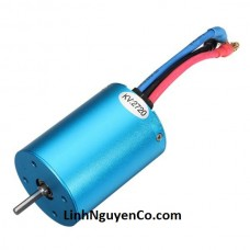 HiSpeed 1/10 3650 2720KV/3300KV 4 Poles Brushless Motor