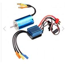 Motor & ESC mini 2845 Motor 3900KV- 3930KV Sensorless Brushless Waterproof 35A ESC cốt 3mm